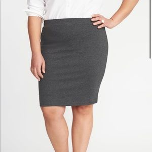 Old Navy Secret Slim Ponte Knit Skirt—NWT